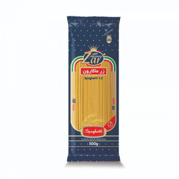 اسپاگتی 1.5 زرماکارون 500 گرم