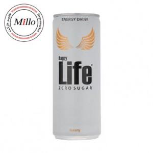 هپی لایف زیرو بدون قند نوشیدنی انرژی زا 250 میل