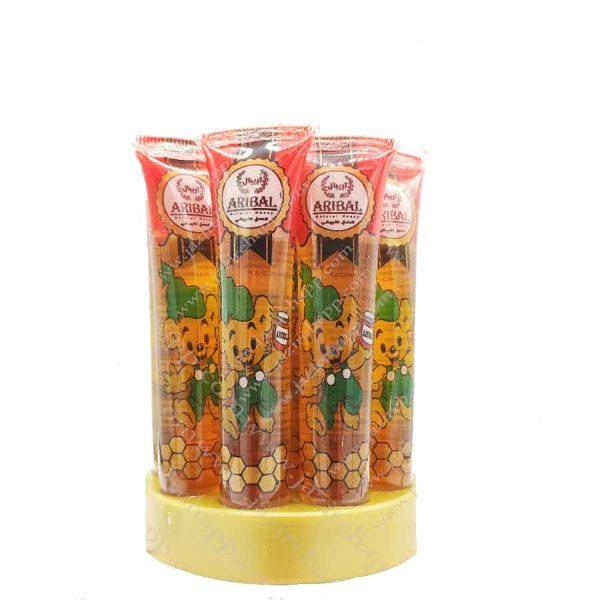 عسل تک نفره تیوپی آریبال 20 گرمی مخصوص