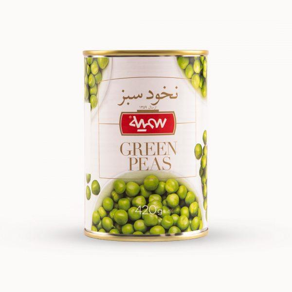 کنسرو نخود سبز سمیه 420 گرم
