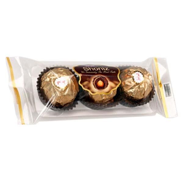 شکلات طلایی 3 عددی شونیز با روکش