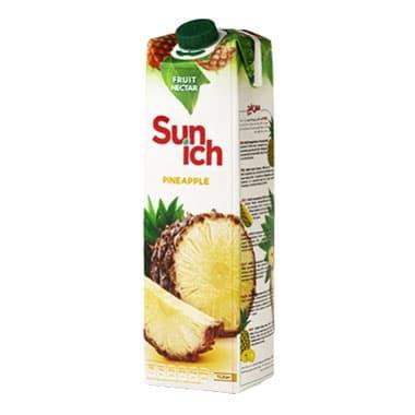 آبمیوه نکتار آناناس سن ایچ پاکت 1 لیتری