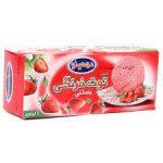 دومینو-بستنی توت فرنگی 1 لیتر