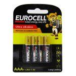 EUROCELL-باتری نیم قلم 4 عددی