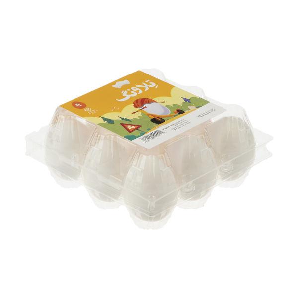 تخم مرغ تلاونگ بسته بندی 9 عددی