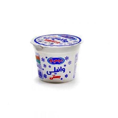 بستنی وانیلی لیوانی دومینو