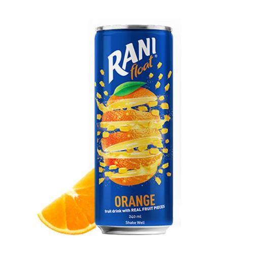 رانی پرتقال قوطی 240 میل با تکه های میوه