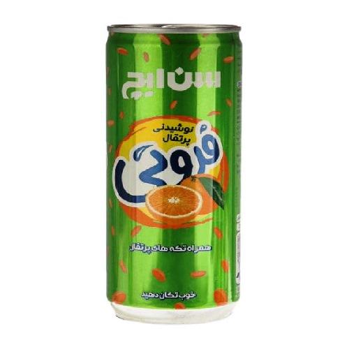 نوشیدنی پرتقال فروتی رانی قوطی
